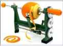 Homeland Goods Orange Citrus Peeler Heavy Duty Clamp