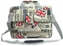 Union Jack Flag Laptop Carry Case