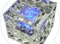 LED Solar Ice Cube Brick Light