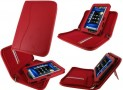 rooCASE Executive Portfolio (Red) Leather Case Cover