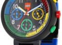 LEGO Unisex Chronograph Multi-Colored Links Watch