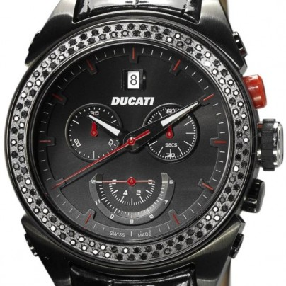 Ducati Ladies Watch CW0021 With Black Ion Plated Case