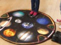 The Talking Teaching Solar System Scale