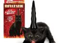 Inflatable Evil Unicorn Horn Cat Hat