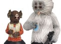Star Wars Kabe and Muftak Mini Bust Sculpture