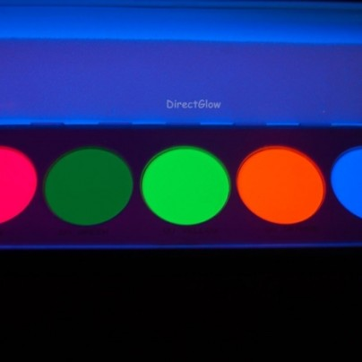 UV Dayglo Makeup Palette
