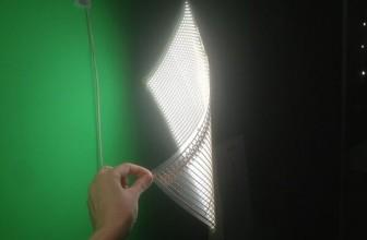 An LED Lamp Translucent Paper