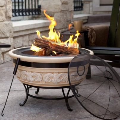 Angel Wings Magnesia Fire Pit