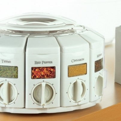 Auto Measure Spice Carousel without Spices