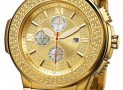 "BW Men's  ""Saxon"" Gold Diamond Watch"