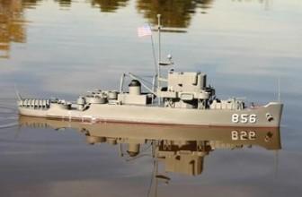 USS Whitehall w/4″ Beam 1-96 Scale Dumas