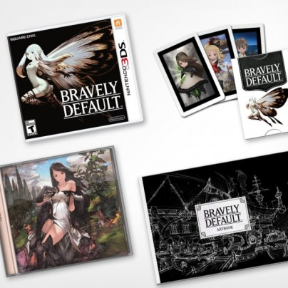 Bravely Default Collector's Edition – Nintendo 3DS