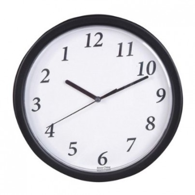 Bulk Buys 9 in. Backward Clock