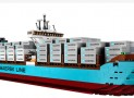 The world's largest cargo Lego set