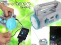 Radio Light with Solar Panel Hand Generator Cell Phone/Smartphone Charger