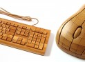 Esupply new Bamboo keyboard and wireless mouse