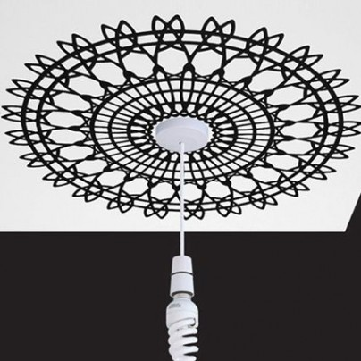 Ceiling Rose Wall Sticker