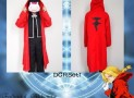 Japanese Anime FullMetal Alchemist Edward Elric Cosplay Costume