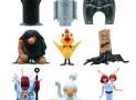 Osamu Tezuka's Phoenix Capsule Toy Mini-Figure Case