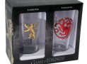 Game of Thrones Targaryen and Lannister Pint Glass