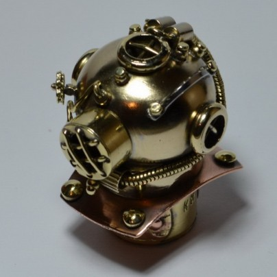 """Diving Helmet"" Steampunk Flash Drive"