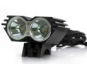 Dual LED Bicycle Headlight + Headlamp