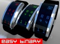 Digital Binary LED Watch Design