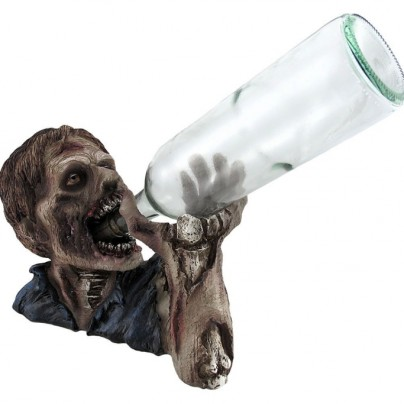 `Elixer of the Undead` Zombie Wine Bottle Holder