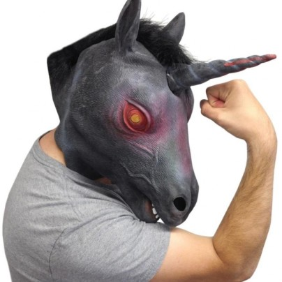 Evil Unicorn Mask