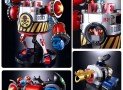 Franky Soul of Chogokin Transforming Die-Cast Action Figure