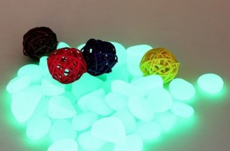 Glow in the Dark Fluorescent Pebbles Stones