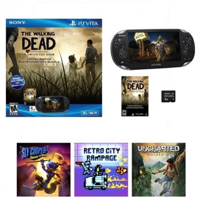 Holiday Walking Dead Vita Bundle