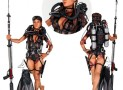 Honey Trap Whisper 18-Inch SCUBA Diver Statue