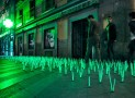 Luzinterruptus' Mutant Weeds take over Madrid
