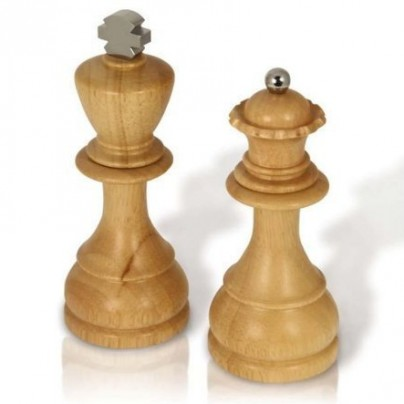 King and Queen Salt/Pepper Mills