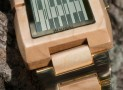 Kisai Upload Wood LCD Watch