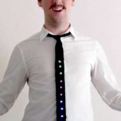 LED Holiday Tie