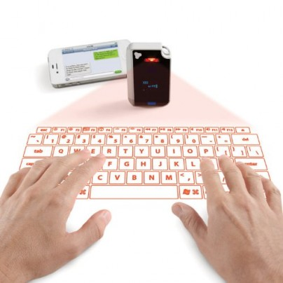 Laser Projection Virtual Keyboard