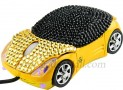 Bling Bling Car USB Optical Mouse