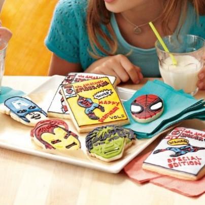 Marvel Comics Hero Cookie Cutters
