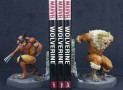 Marvel Wolverine v Sabretooth Bookend