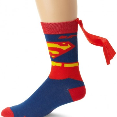 Men's Superman Costume Crew Sock