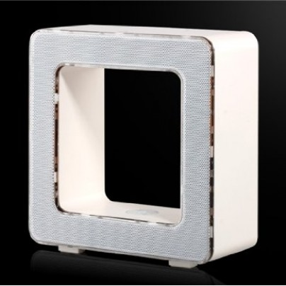 Multifunction Hollow Square Portable Touch LED Lamp Wireless Bluetooth Speaker