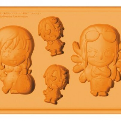 Nami and Robin with Sanji Silicone Ice Tray