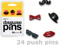 DISGUISE PUSH PINS