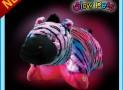 Pillow Pets Glow Pets – Zebra 12″