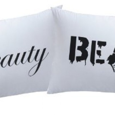 Pillowcases Beauty and Beast