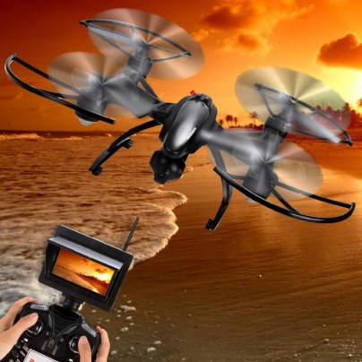 RC Quadcopter FPV Aircraft RC Drone with 30W HD Camera RTF UAV