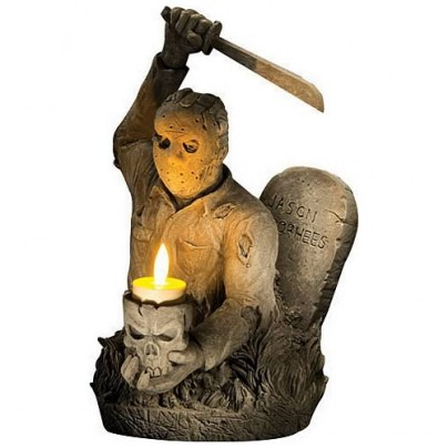 Friday the 13th Jason Voorhees Tombstone Candleholder