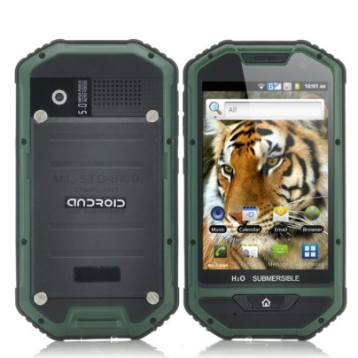 "Rugged 4 Inch Android Phone ""Mastodon II"""